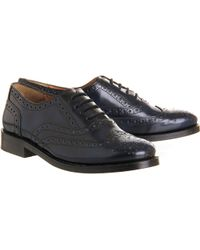 Office Victory Brogue Lace Up - Lyst