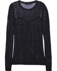 Isabel Marant Clay Fine-knit Top - Lyst