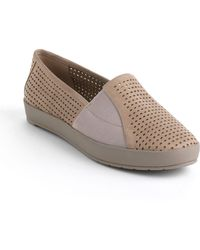 Eileen Fisher - Chase Nubuck Leather Flats - Lyst