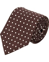 Ralph Lauren Black Label Faille Neck Tie - Lyst