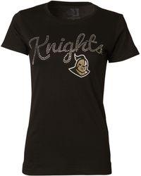 MYU Apparel - Women'S Short-Sleeve Ucf Knights Sequin T-Shirt - Lyst