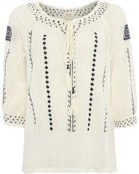Linea Weekend Peasant Blouse - Lyst