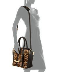 Time's Arrow - Jo Mini Calf Hair Tote Bag - Lyst
