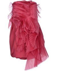 Roberta Furlanetto Short Dress - Lyst