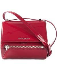 Givenchy Small 'Pandora' Shoulder Bag red - Lyst