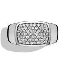 David Yurman Pavã Signet Ring - Lyst