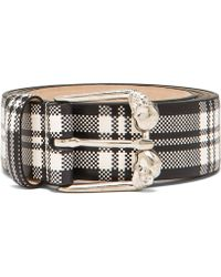 Alexander McQueen Leather Belt - Lyst