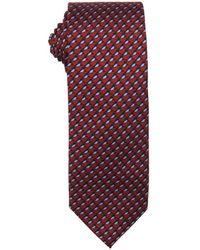 Prada Amaranth Silk 'Twill Bird' Print Tie - Lyst
