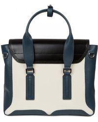 3.1 Phillip Lim - Pashli Colour Block Leather Satchel - Lyst