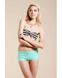 Urban Outfitters - Uo Tiefront Bandeau Bikini Top - Lyst