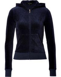 Juicy Couture Velour Ornate Monogram Hoodie - Lyst
