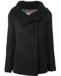 Isola Marras - Floral Jacquard Coat - Lyst