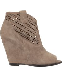 Ash Boots - Lucy Gat Suede - Lyst