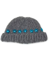 Wool And The Gang - Knitted Star Beanie Hat - Lyst