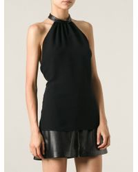 Gucci Halter Neck Top - Lyst