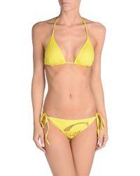 Just Cavalli Bikini yellow - Lyst
