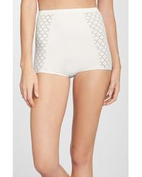 Free People High Rise Seamless Briefs - Lyst