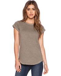 James Perse Sweat Top - Lyst