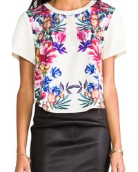 Cameo - Hill Stomp Top in Cream - Lyst