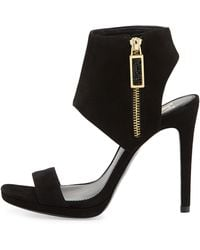 Vc Signature - Shaylee High-Heel Suede Dress Sandal - Lyst