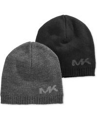Michael Kors Mk Placement Logo Hat - Lyst