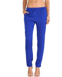 Joe's Jeans Vivian Silk Pants - Lyst