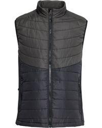 H&M Padded Bodywarmer black - Lyst