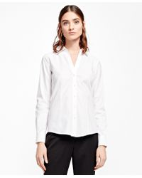Brooks Brothers   Fitted Non-iron Dress Shirt   Lyst