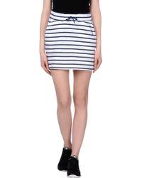 Helly Hansen Mini Skirt - Lyst
