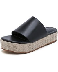 Tibi Masha Espadrille Sandals - Poppy - Lyst