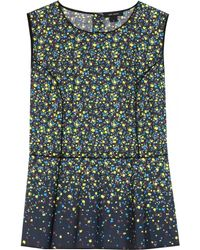 Marc Jacobs Printed Cotton Top - Lyst
