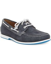 Ecco Ellery Boat Shoes - Lyst
