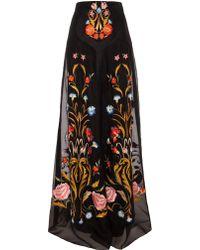 Temperley London Long Toledo Skirt - Lyst