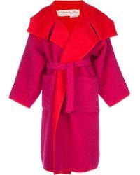 Jc De Castelbajac Vintage Oversize Coat - Lyst