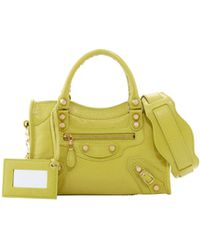 Balenciaga Mini Giant 12 Golden City Bag Jaune Poussin - Lyst