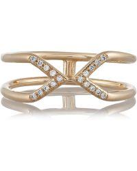 Wendy Nichol 14-Karat Gold Diamond Ring - Lyst