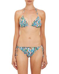 Missoni Zigzag Reversible Triangle Bikini Set - Lyst