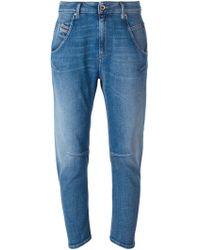 Diesel Boyfriend Jeans blue - Lyst