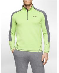 CALVIN KLEIN 205W39NYC - Performance Colorblock Stretch Pullover - Lyst