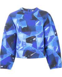 ROKSANDA - Over Sized Collage Print Sweatshirt - Lyst