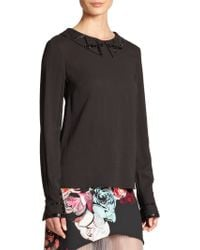 Honor | Bead-accented Blouse | Lyst