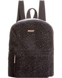 Rampage Animal Printed Suede Backpack - Lyst