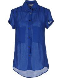 Surface To Air Short Sleeve Shirt blue - Lyst