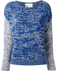 NSF Clothing Striped Sweater - Lyst