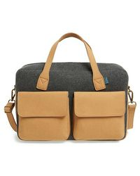 M.R.K.T. | 'frank' Water Resistant Briefcase | Lyst