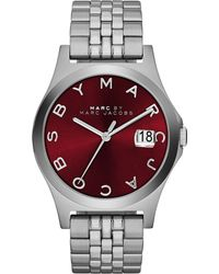 Marc By Marc Jacobs 36mm The Slim Stainless Watch with Bracelet - Lyst