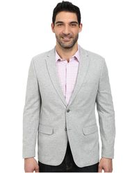 Calvin Klein Unstructured Knit Sportcoat gray - Lyst