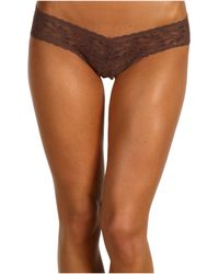 Hanky Panky Signature Lace Low Rise Thong 5pack - Lyst