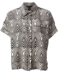 Marc By Marc Jacobs Boxy Patterned Shirt - Lyst