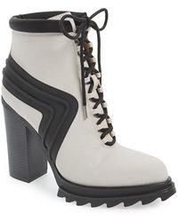 Gx By Gwen Stefani - Cope Lace-Up Platform Boots - Lyst